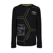 Hackett Aston Martin Racing Printed Boy's Long Sleeve T-Shirt