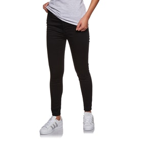 Levi's Mile High Super Skinny Women's Jeans - Black Galaxy