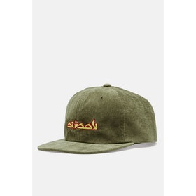Stussy No Wale Cord Cap - Olive