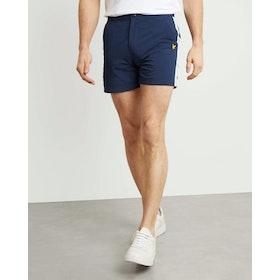 Lyle & Scott Side Stripe Short Shorts - Navy