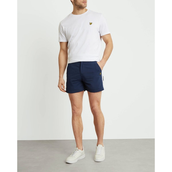 Lyle & Scott Side Stripe Short Shorts