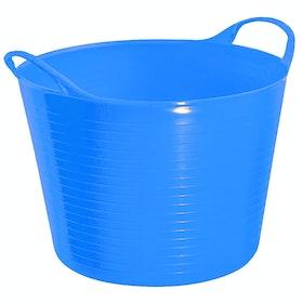 Perry Equestrian Flexi Fill 28L Flexible Tub - Blue