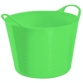 Perry Equestrian Flexi Fill 28L Flexible Tub - Green