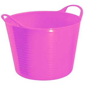 Perry Equestrian Flexi Fill 28L Flexible Tub - Pink