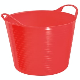 Perry Equestrian Flexi Fill 28L Flexible Tub - Red