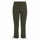 Troy London Moleskin Breeches Olive Dames Broeken