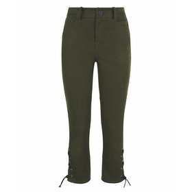 Trousers Donna Troy London Moleskin Breeches Olive - Forest Green