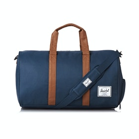 Herschel Novel Duffle Bag - Navy Tan