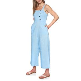 SWELL River Long Leg Jumpsuit - Blue