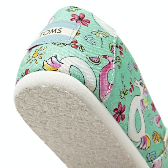 Toms Alpargata Unicorn Girls Slip On Shoes