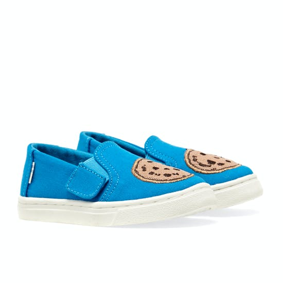 Toms Sesame Street Cookie Monster Luca Shoes