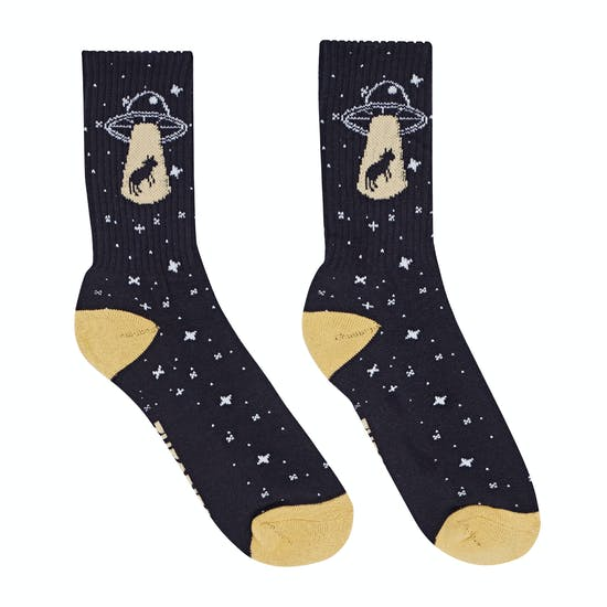 Theories Of Atlantis Abduction Sports Socks