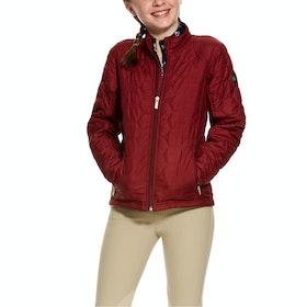 Ariat Volt Girls Riding Jacket - Cabernet