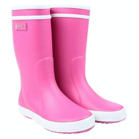 Aigle Lolly Pop Girls Wellingtons - New Rose