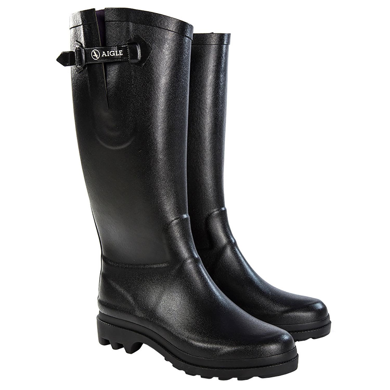 Aigle Aiglentine gummistøvler dame, Noir