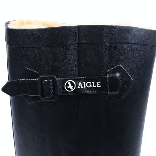 size 40 90350 c947e Aigle Aiglentine Faux Fur Lined Gummistiefel available from ...
