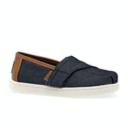 Toms Denim Tiny Classic Kids Toddler Shoes