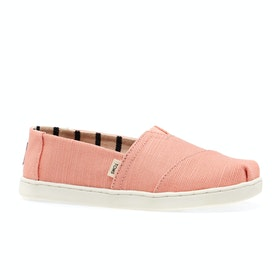 Chaussures Enfant Toms Heritage Canvas Classic - Coral Pink