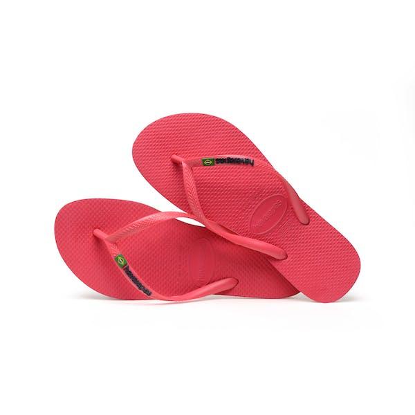 Havaianas Slim Brasil Logo Barn Sandaler