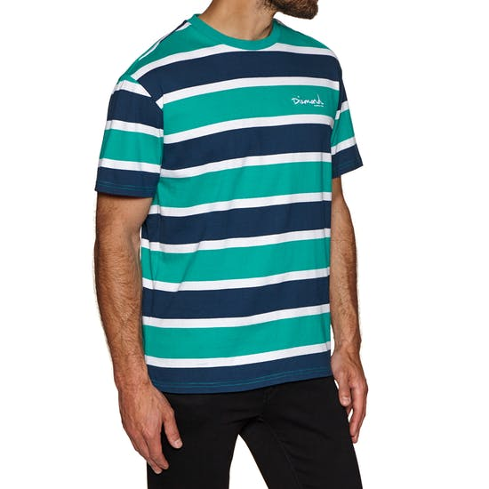 Diamond Supply Co Mini Og Script Striped Short Sleeve T-Shirt