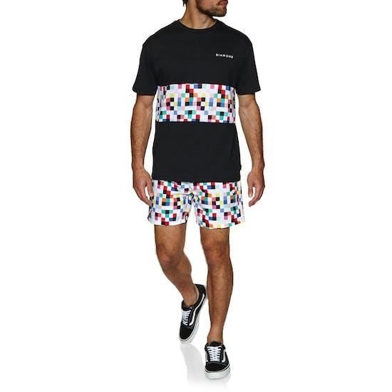Diamond Supply Co Pixel Panel Short Sleeve T-Shirt