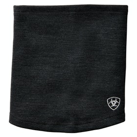Ariat Tek Merino Neck Gaiter - Heathered Black