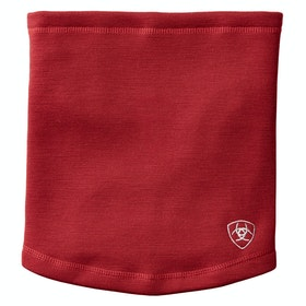 Ariat Tek Merino Neck Gaiter - Laylow Red