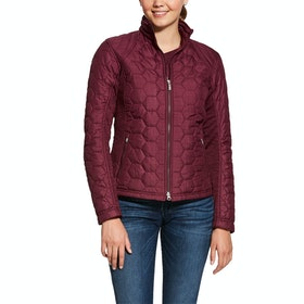 Ariat Volt Ladies Jacket - Grape Wine Heather