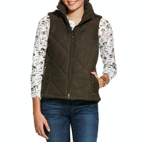 Ariat Ladies Terrace Gilet - Banyan Bark