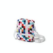 Diamond Supply Co Pixel Shoulder Messenger Bag