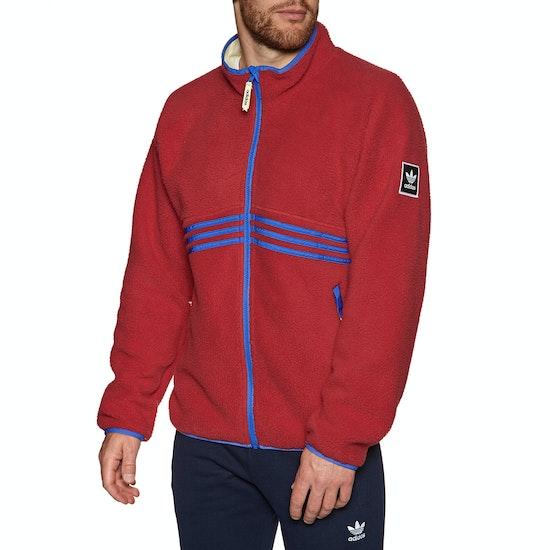 Adidas Snowboarding Sherpa Full Zip Fleece