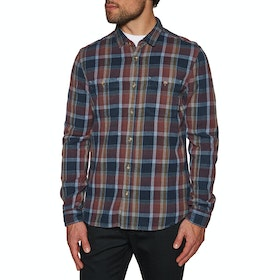 Etnies Ruskin Flannel Shirt - Blue Grey