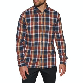 Chemise Etnies Ruskin Flannel - Brown Navy