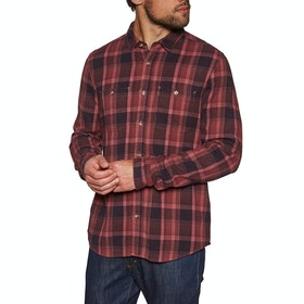 Chemise Etnies Ruskin Flannel - Red Navy
