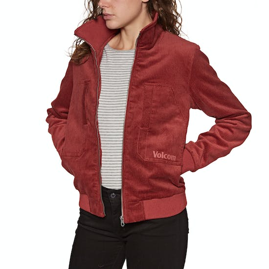 Volcom Oh My Cord Teddy Womens Jacket