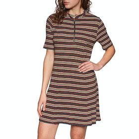 Volcom Strype Hype Dress - Stripe