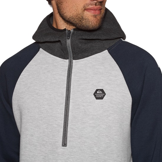 Quiksilver Adapt Half Zip Pullover Hoody