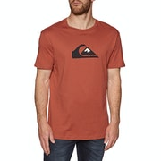 Quiksilver Comp Logo Short Sleeve T-Shirt