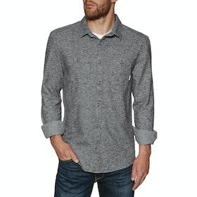 Quiksilver Wollemi Shirt - Medium Grey Heather