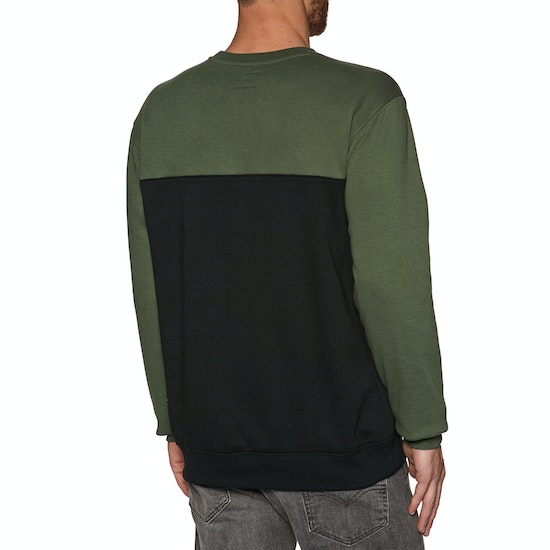DC Rebel Crew Block Mens Sweater