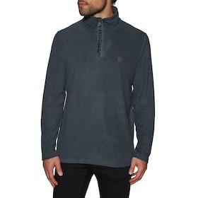 Protest Perfecty 1/4 Zip Top Fleece - Asphalt