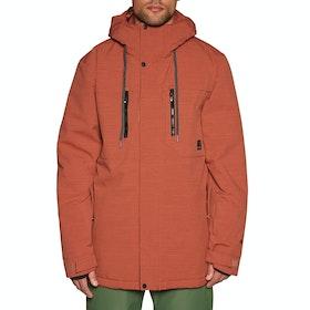 Protest Ilton Snow Jacket - Cinnamon
