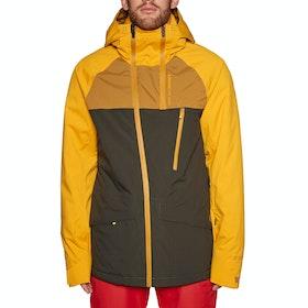 Protest Kikham Snow Jacket - Dark Yellow