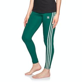 Adidas Originals 3 Stripe Womens Leggings - Noble Green