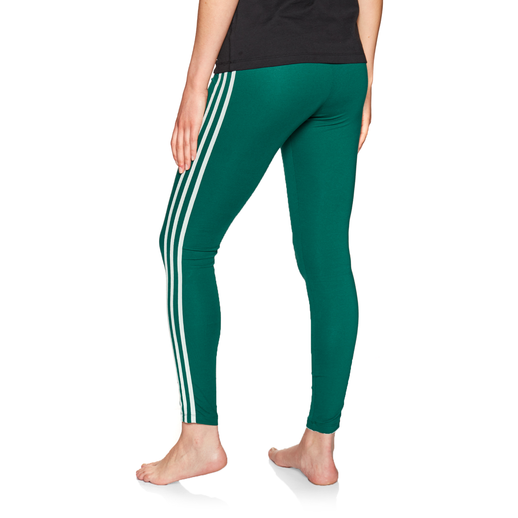 Adidas Originals 3 Stripe Womens Leggings Free Delivery