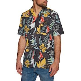 Hurley Domino Woven Short Sleeve Shirt - Black