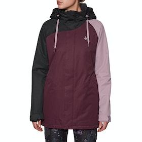Volcom Westland Ins Snow Jacket - Merlot