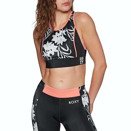 Roxy Fitness Crop Bikini Top