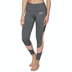 Roxy Say You Say Me Womens Leggings - Charcoal Heather