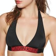 Calvin Klein Plunge Triangle Bikini Top